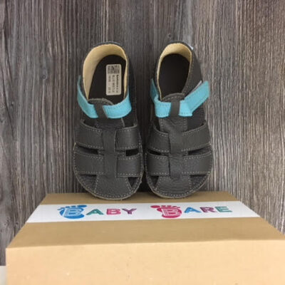 Baby bare shoes barefoot blue beetle sandaalid
