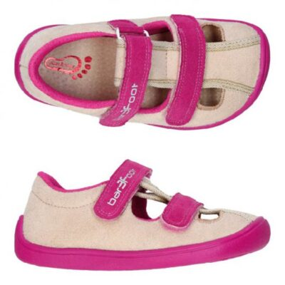 3F bar3foot barefoot sandaalid roosa