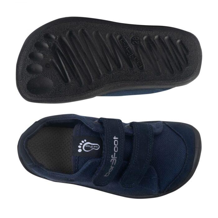 3F laste barefoot tossud tumesinine