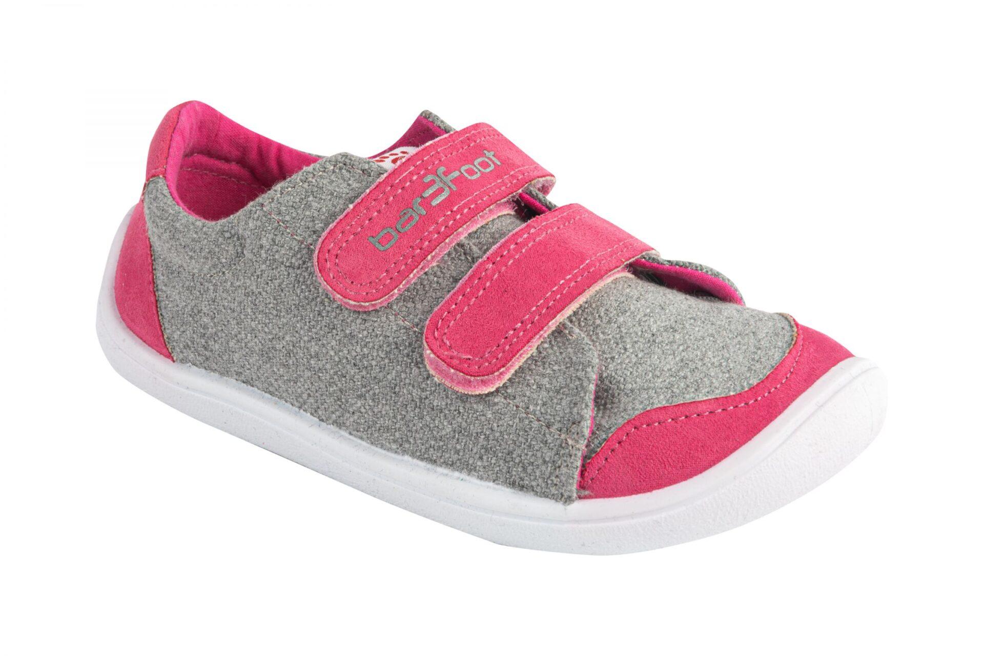 3F laste barefoot tossud roosa0