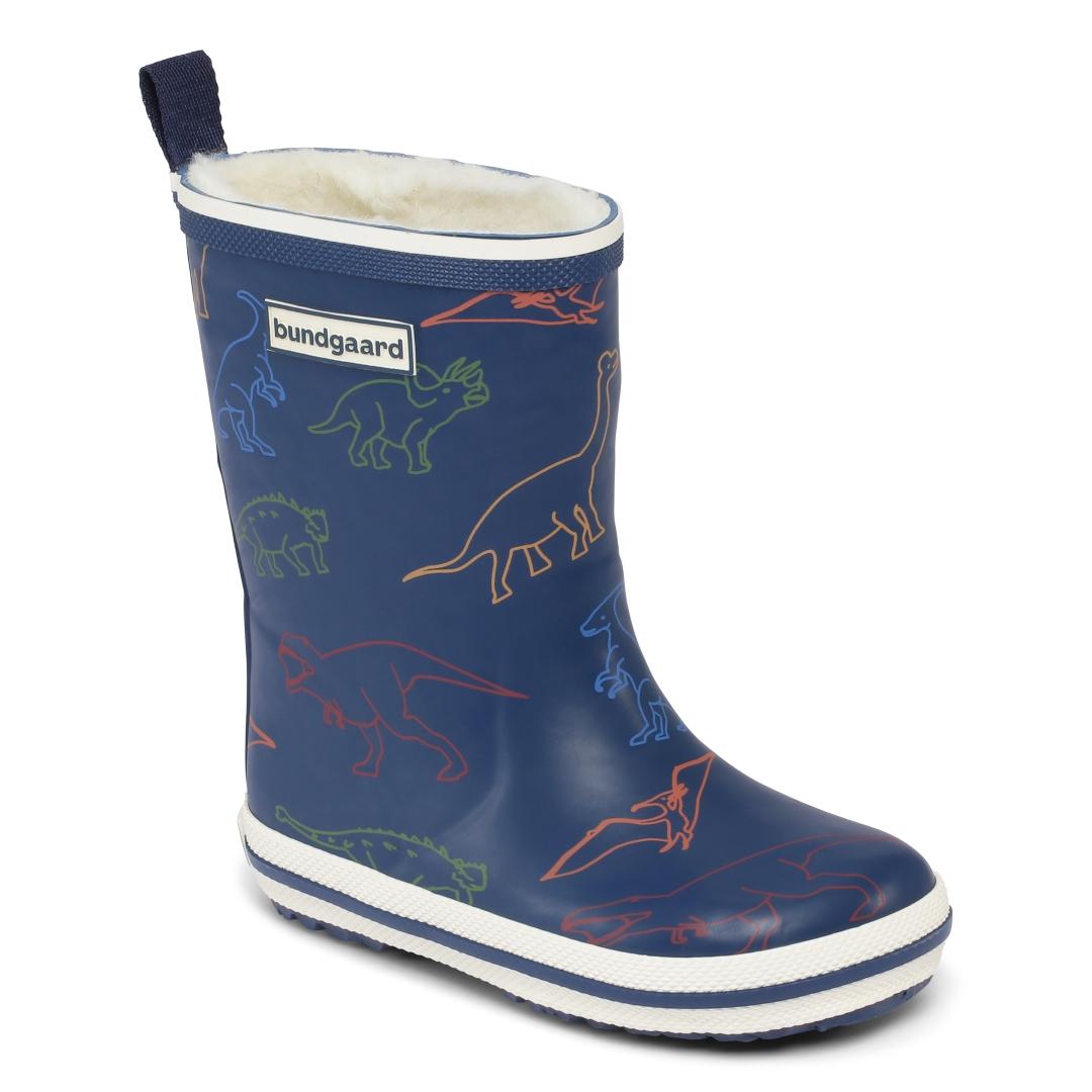 Bundgaard Classic Rubber Boot Winter Dinosaur