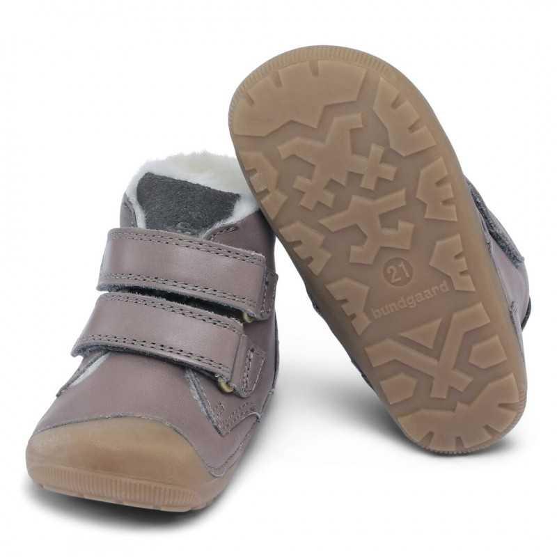 Bundgaard Petit Mid Velcro Dark Grey WS