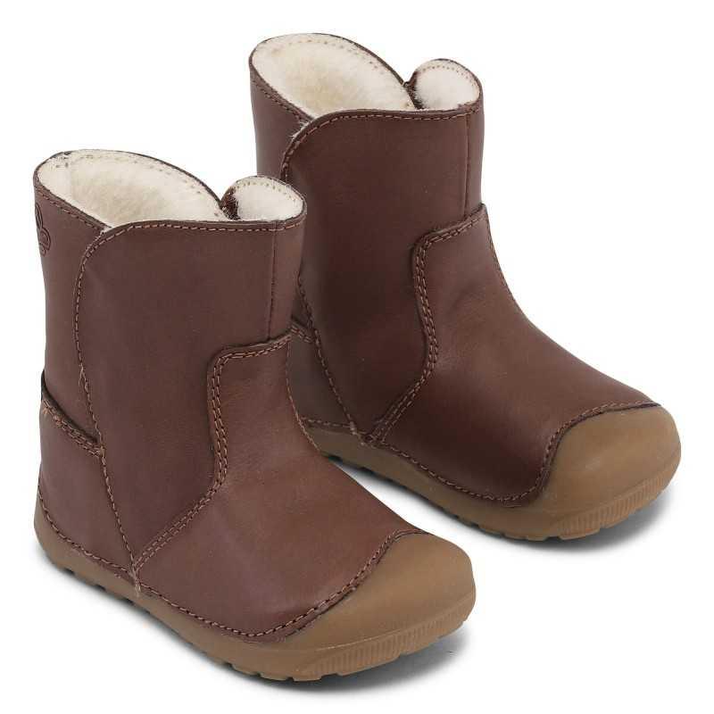 Bundgaard Petit Winter Boot Brown WS barefoot saapad